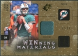 2009 Upper Deck SPx Winning Materials Patch #WHE Chad Henne /99