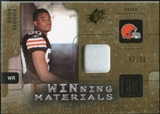 2009 Upper Deck SPx Winning Materials Patch #WIE Brian Robiskie /99