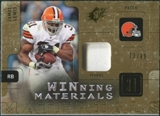 2009 Upper Deck SPx Winning Materials Patch #WJL Jamal Lewis /99