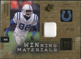 2009 Upper Deck SPx Winning Materials Patch #WMH Marvin Harrison /99