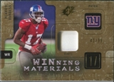 2009 Upper Deck SPx Winning Materials Patch #WPB Plaxico Burress /99