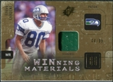 2009 Upper Deck SPx Winning Materials Patch #WSL Steve Largent /99