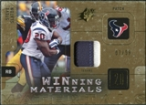 2009 Upper Deck SPx Winning Materials Patch #WSS Steve Slaton /99