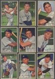 1952 Bowman Baseball Starter Set (115 Different) VG-EX