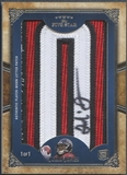 "2011 Topps Five Star #FSLJJ Julio Jones Letter ""O"" Patch Auto #1/1"