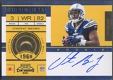 2011 Playoff Contenders #233A Vincent Brown Rookie Auto