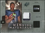 2009 Upper Deck SPx Winning Materials Patch Platinum #WBU Deon Butler /25