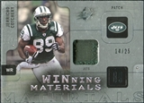 2009 Upper Deck SPx Winning Materials Patch Platinum #WCO Jerricho Cotchery /25