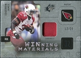 2009 Upper Deck SPx Winning Materials Patch Platinum #WEJ Edgerrin James 12/25