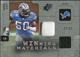 2009 Upper Deck SPx Winning Materials Patch Platinum #WES Ernie Sims /25