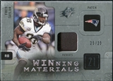 2009 Upper Deck SPx Winning Materials Patch Platinum #WFT Fred Taylor /25