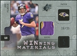 2009 Upper Deck SPx Winning Materials Patch Platinum #WJF Joe Flacco /25