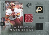 2009 Upper Deck SPx Winning Materials Patch Platinum #WJT Joe Theismann /25