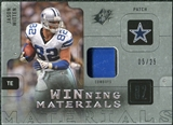 2009 Upper Deck SPx Winning Materials Patch Platinum #WJW Jason Witten /25