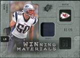 2009 Upper Deck SPx Winning Materials Patch Platinum #WMV Mike Vrabel /25