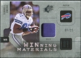 2009 Upper Deck SPx Winning Materials Patch Platinum #WTO Terrell Owens /25
