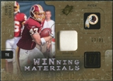 2009 Upper Deck SPx Winning Materials Patch #WCC Chris Cooley /99