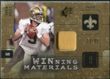 2009 Upper Deck SPx Winning Materials Patch #WDB Drew Brees /99