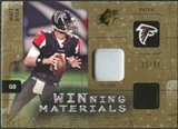 2009 Upper Deck SPx Winning Materials Patch #WMR Matt Ryan /99