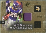 2009 Upper Deck SPx Winning Materials Patch #WPE Adrian Peterson /99