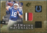 2009 Upper Deck SPx Winning Materials Patch #WPM Peyton Manning /99