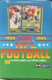 1989 Score Football Wax Box