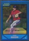 2007 Bowman Chrome Prospects #BC162 Tommy Hanson Blue Refractor #045/150