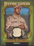 2012 Topps Gypsy Queen #6 Felek Horvath Gypsy King Relics Bat #09/25