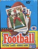 1989 Topps Football Wax Box