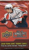 2011/12 Upper Deck Series 1 Hockey Retail Pack