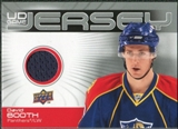 2010/11 Upper Deck Game Jerseys #GJBO David Booth