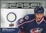 2010/11 Upper Deck Game Jerseys #GJBR Derick Brassard