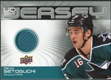 2010/11 Upper Deck Game Jerseys #GJDS Devin Setoguchi
