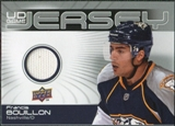 2010/11 Upper Deck Game Jerseys #GJFB Francis Bouillon