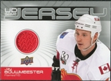 2010/11 Upper Deck Game Jerseys #GJJB Jay Bouwmeester