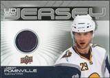 2010/11 Upper Deck Game Jerseys #GJJP Jason Pominville