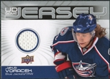 2010/11 Upper Deck Game Jerseys #GJJV Jakub Voracek