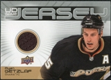 2010/11 Upper Deck Game Jerseys #GJRG Ryan Getzlaf
