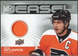 2010/11 Upper Deck Game Jerseys #GJRI Mike Richards