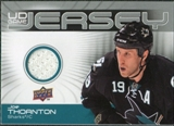 2010/11 Upper Deck Game Jerseys #GJTH Joe Thornton