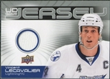 2010/11 Upper Deck Game Jerseys #GJVL Vincent Lecavalier