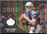 2008 Upper Deck Icons Class of 2008 Jersey Silver #CO35 Kevin O'Connell /199