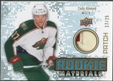 2010/11 Upper Deck Rookie Materials Patches #RMCA Cody Almond /25
