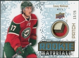 2010/11 Upper Deck Rookie Materials Patches #RMCW Casey Wellman /25