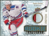 2010/11 Upper Deck Rookie Materials Patches #RMEG Evgeny Grachev /25