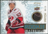 2010/11 Upper Deck Rookie Materials Patches #RMJS Jeff Skinner /25