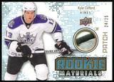 2010/11 Upper Deck Rookie Materials Patches #RMKC Kyle Clifford 24/25