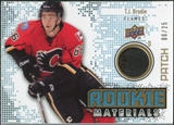 2010/11 Upper Deck Rookie Materials Patches #RMTB T.J. Brodie /25