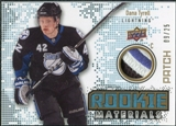 2010/11 Upper Deck Rookie Materials Patches #RMTY Dana Tyrell /25