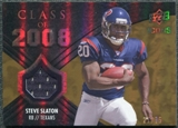 2008 Upper Deck Icons Class of 2008 Jersey Gold #CO33 Steve Slaton /75